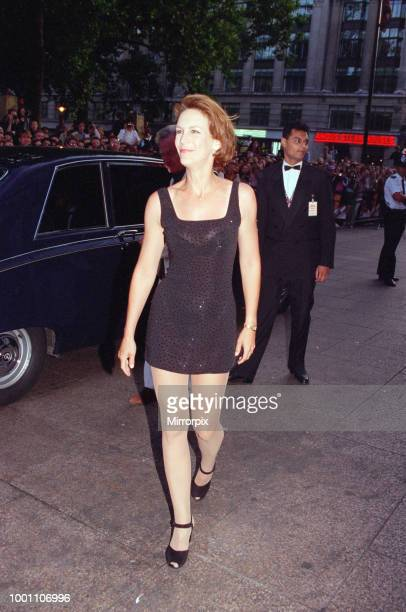 Jamie Lee Curtis at the London Premiere of the film True Lies, held at The Empire, Leicester Square, London Full name for Jamie is Jamie Lee...