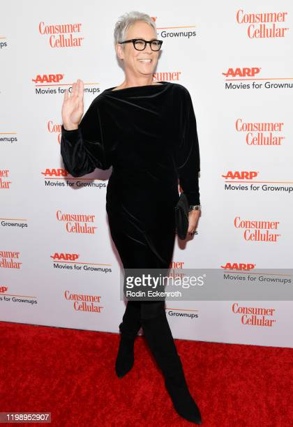 Jamie Lee Curtis attends AARP The Magazine's 19th Annual Movies For Grownups Awards at Beverly Wilshire A Four Seasons Hotel on January 11 2020 in...