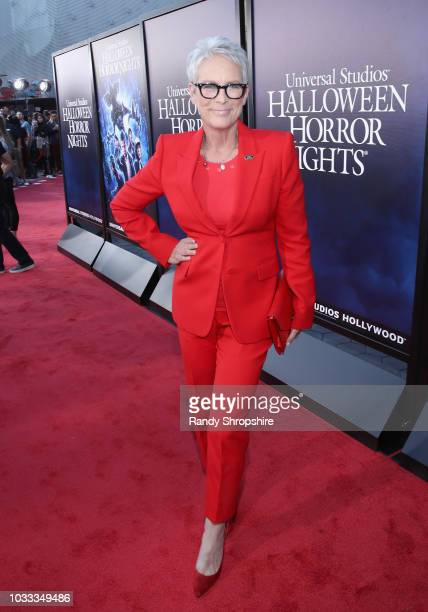 Jamie Lee Curtis attends Halloween Horror Nights 2018 at Universal Studios Hollywood on September 14 2018 in Los Angeles California