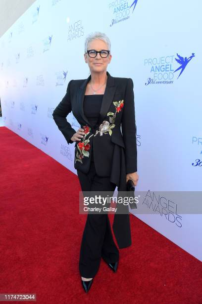 Jamie Lee Curtis attends Project Angel Food's 29th Annual Angel Awards on September 14 2019 in Hollywood California