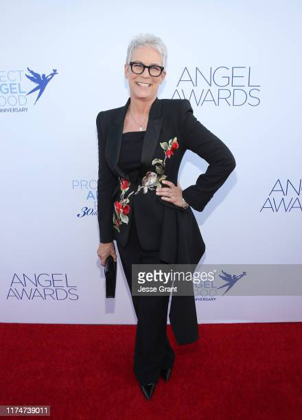 Jamie Lee Curtis attends Project Angel Food's Angel Awards Gala at Project Angel Food on September 14, 2019 in Los Angeles, California.