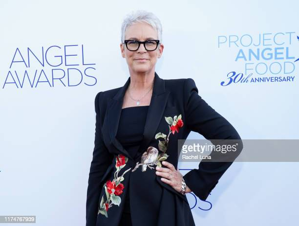 Jamie Lee Curtis attends Project Angel Food's Angel Awards Gala at Project Angel Food on September 14 2019 in Los Angeles California