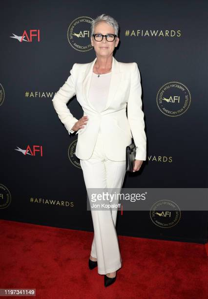 Jamie Lee Curtis attends the 20th Annual AFI Awards at Four Seasons Hotel Los Angeles at Beverly Hills on January 03 2020 in Los Angeles California