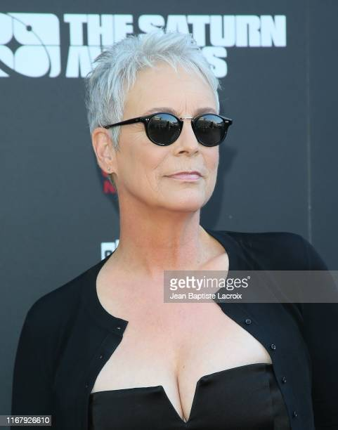 Jamie Lee Curtis attends the 45th Annual Saturn Awards at Avalon Theater on September 13 2019 in Los Angeles California