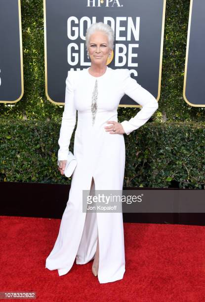 Jamie Lee Curtis attends the 76th Annual Golden Globe Awards at The Beverly Hilton Hotel on January 6 2019 in Beverly Hills California