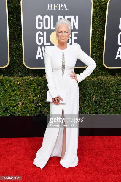 Jamie Lee Curtis attends the 76th Annual Golden Globe Awards held at The Beverly Hilton Hotel on January 06 2019 in Beverly Hills California