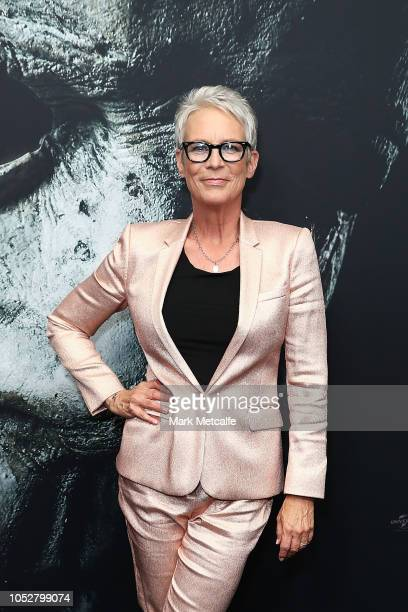 Jamie Lee Curtis attends the Australian Premiere of Halloween at Event Cinemas George Street on October 23 2018 in Sydney Australia