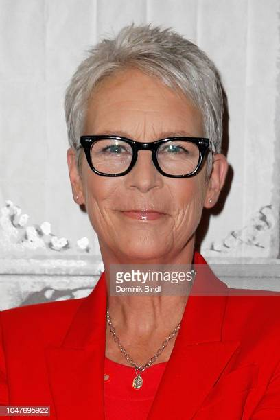 Jamie Lee Curtis attends the Build Series to discuss Halloween at Build Studio on October 8 2018 in New York City