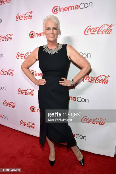 Jamie Lee Curtis attends The CinemaCon Big Screen Achievement Awards Brought to you by The CocaCola Company at OMNIA Nightclub at Caesars Palace...