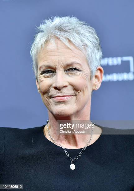Jamie Lee Curtis attends the German premiere of the film 'Halloween' during the Hamburg Film Festival at CinemaxX Dammtor on October 2 2018 in...