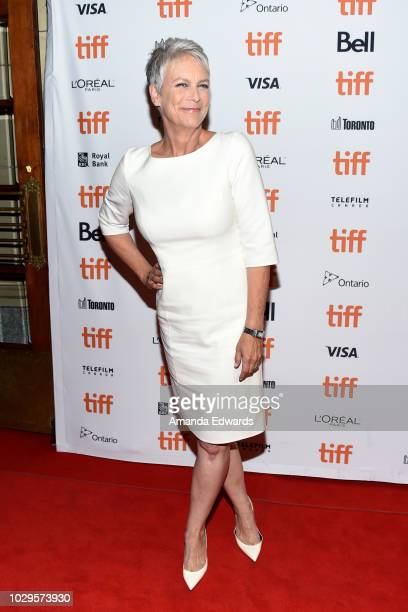 Jamie Lee Curtis attends the Halloween premiere during 2018 Toronto International Film Festival at The Elgin on September 8 2018 in Toronto Canada