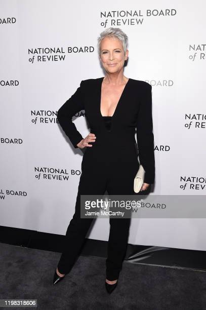 Jamie Lee Curtis attends The National Board of Review Annual Awards Gala at Cipriani 42nd Street on January 08 2020 in New York City