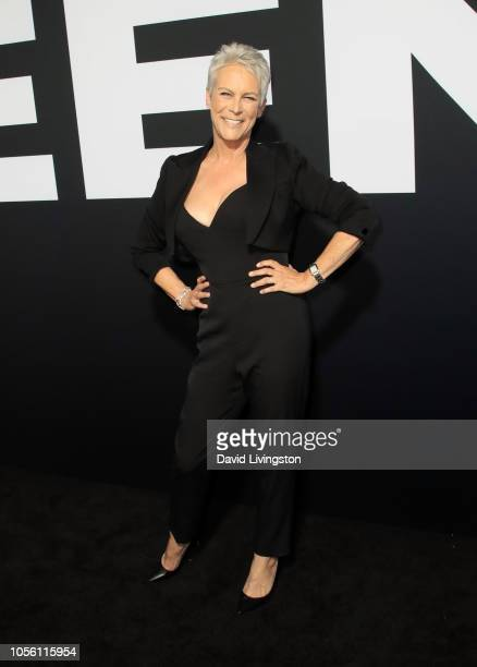 Jamie Lee Curtis attends the premiere of Universal Pictures' Halloween at TCL Chinese Theatre on October 17 2018 in Hollywood California