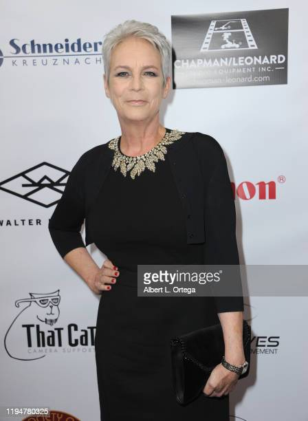 Jamie Lee Curtis attends The Society of Camera Operators Lifetime Achievement Awards 2020 Arrivalsheld at Loews Hollywood Hotel on January 18 2020 in...