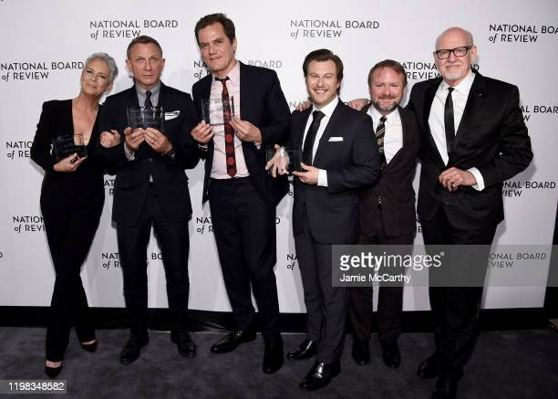 Jamie Lee Curtis Daniel Craig Michael Shannon Noah Segan and Frank Oz attend The National Board of Review Annual Awards Gala at Cipriani 42nd Street...