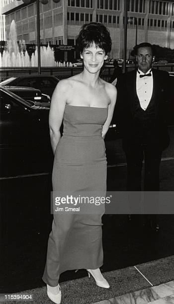 Jamie Lee Curtis during ABC TV Annual Affiliates Dinner at Century Plaza Hotel in Los Angeles California United States