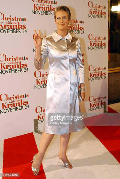 Jamie Lee Curtis during 'Christmas with the Kranks' New York Premiere at Radio City Music Hall in New York City New York United States