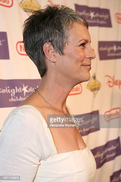 Jamie Lee Curtis during Starlight Starbright Children's Foundation's Annual A Stellar Night Gala Red Carpet at The Beverly Hilton in Beverly Hills...