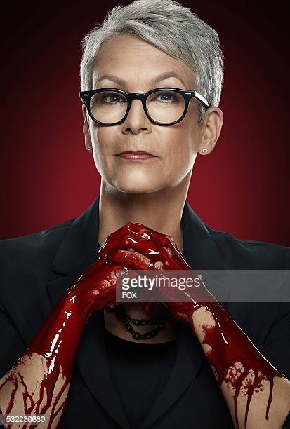 Jamie Lee Curtis in SCREAM QUEENS which debuts with a special twohour series premiere event on Tuesday Sept 22 on FOX