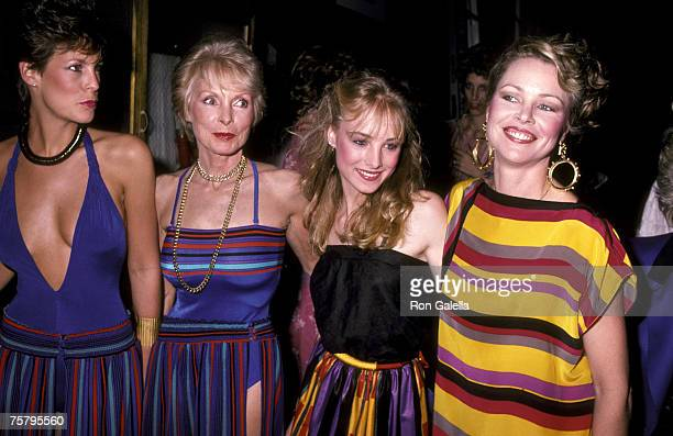 Jamie Lee Curtis Janet Leigh Chynna Phillips and Michelle Phillips