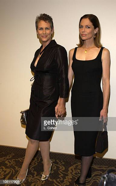 Jamie Lee Curtis Kelly Curtis during 2003 Women In Film Crystal Lucy Awards Show at Century Plaza Hotel in Los Angeles California United States