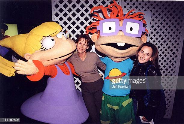 Jamie Lee Curtis Marlee Matlin at the 1999 premiere of The Rugrats movie in Los Angeles