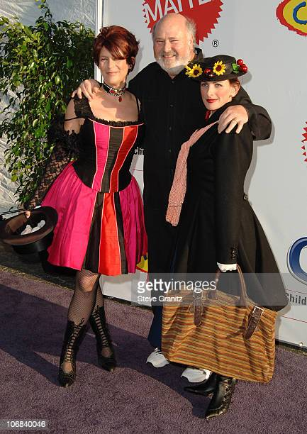 Jamie Lee Curtis Rob Reiner and Marlee Matlin during 12th Annual Dream Halloween Fundraising Event Benefiting The Children Affected by AIDS...