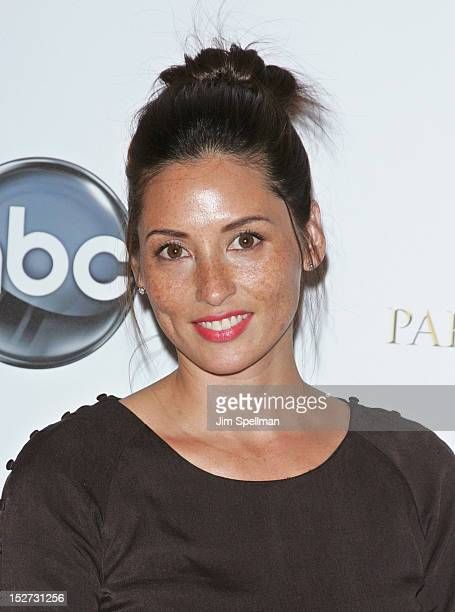 Jamie LeePalladino attends the 666 Park Avenue Premiere at the Crosby Street Hotel on September 24 2012 in New York City