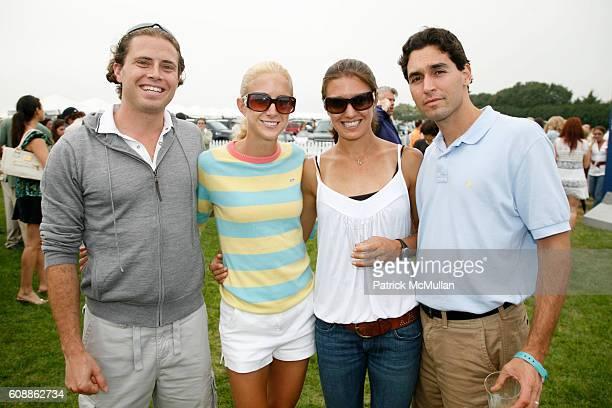 Jamie LeFrak Caroline Bierbaum Julia Mallon and Jon Mallon attend TMOBILE SIDEKICK Lounge at the MERCEDESBENZ Bridgehampton Polo Challenge at JetOne...