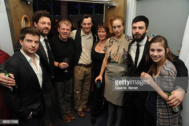 Jamie lloyd Richard Coyle Mark Haddon Paul Hilton Celia Imrie Jodhi May David Leon and Skye Bennett attend the afterparty of Opening Night Polar...