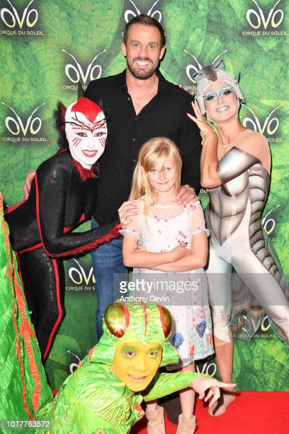 Jamie Lomas attends the Cirque Du Soleil's OVO Premiere at The Liverpool Echo Arena on August 16 2018 in Liverpool England