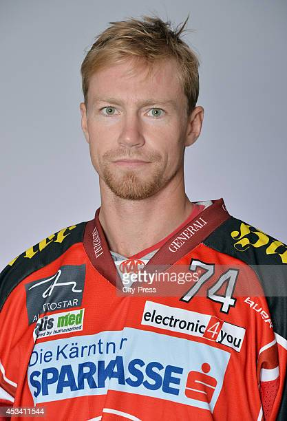 Jamie Lundmark during a test game in Straubing Germany