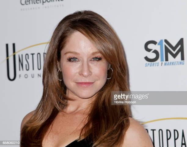 Jamie Luner attends the 8th annual Unstoppable Foundation Gala at The Beverly Hilton Hotel on March 25 2017 in Beverly Hills California