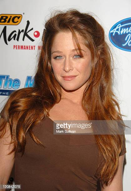 Jamie Luner during American Idol Season 5 Launch Party in Los Angeles California United States