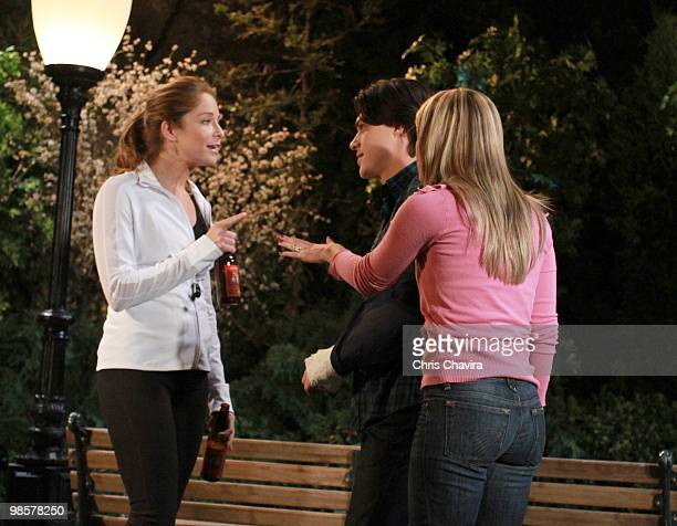 CHILDREN Jamie Luner Finn Wittrock and Natalie Hall in a scene that airs the week of April 26 2010 on Walt Disney Television via Getty Images...