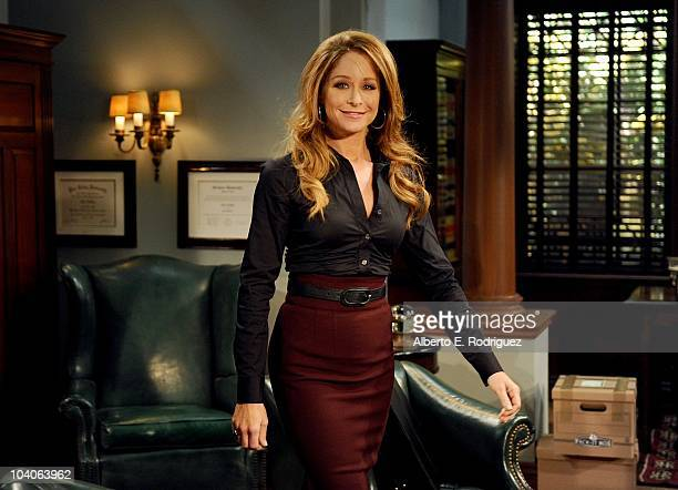 Jamie Luner in a scene that airs the week of September 27 2010 on ABC Daytime's 'All My Children' 'All My Children' airs MondayFriday on the ABC...