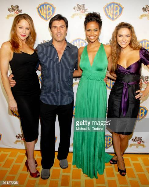 Jamie Luner Vincent Irizarry Shannon Cane and Chrishell Stause attend the 2009 Emerald Gala celebrating the 70th anniversary of The Wizard of Oz at...