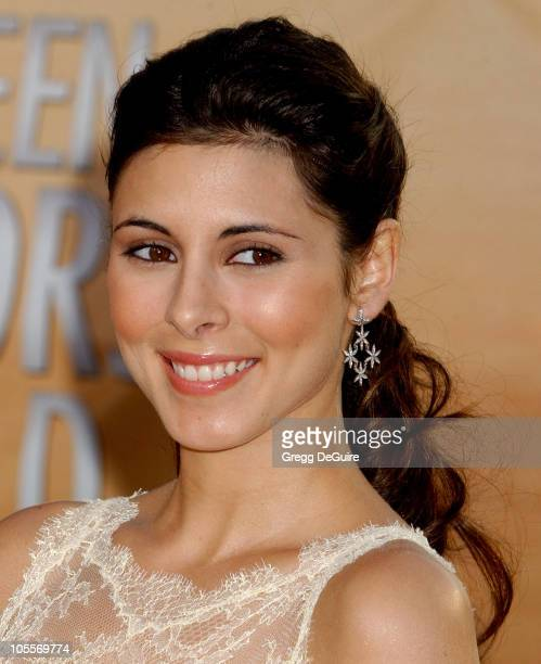 Jamie Lynn DiScala during 11th Annual Screen Actors Guild Awards Arrivals at Shrine Auditorium in Los Angeles California United States