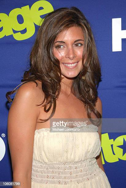 Jamie Lynn Sigler during Entourage Season Three New York Premiere Arrivals at Skirball Center for the Performing Arts at NYU in New York City New...