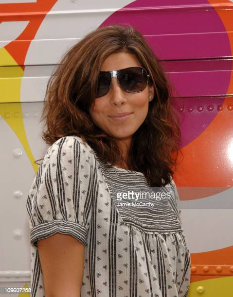 Jamie Lynn Sigler during Gap Kicks Off Summer In The City With An AllStar Celebrity DJ Spin Off At Their Rock Color Bus at Gap Rock Color Bus in New...
