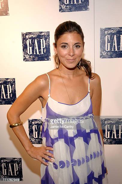 Jamie Lynn Sigler during Gap Presents Exclusive John Legend Concert at The Supper Club in New York City New York United States