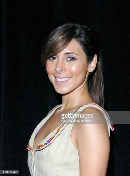 Jamie Lynn Sigler during Olympus Fashion Week Fall 2006 Seen Around Tent Day 6 at Bryant Park in New York City New York United States