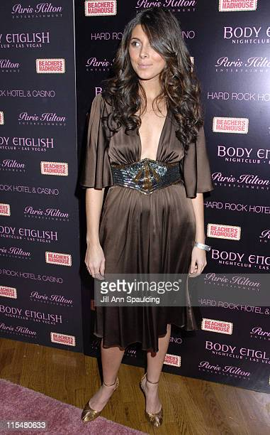 Jamie Lynn Sigler during Paris Hilton's 26th Birthday Celebration at Body English at The Hard Rock Hotel and Casino in Las Vegas Nevada United States