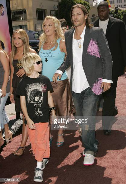 Jamie Lynn Spears Britney Spears and Kevin Federline