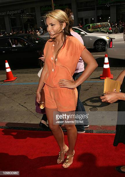 Jamie Lynn Spears during Nancy Drew Los Angeles Premiere Red Carpet at Grauman's Chinese Theater in Hollywood California United States