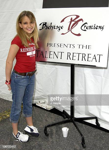 Jamie Lynn Spears during Nickelodeon's 16th Annual Kids Choice Awards Backstage Creations Talent Retreat at Barker Hangar in Santa Monica California...