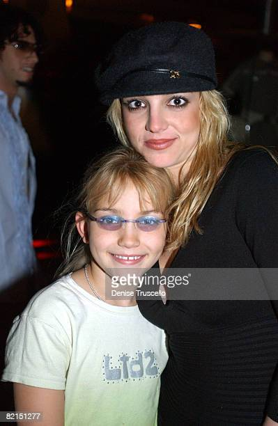 Jamie Lynn Spears with her sister Britney