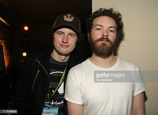 Jamie MacDonald of Blender Magazine and Danny Masterson