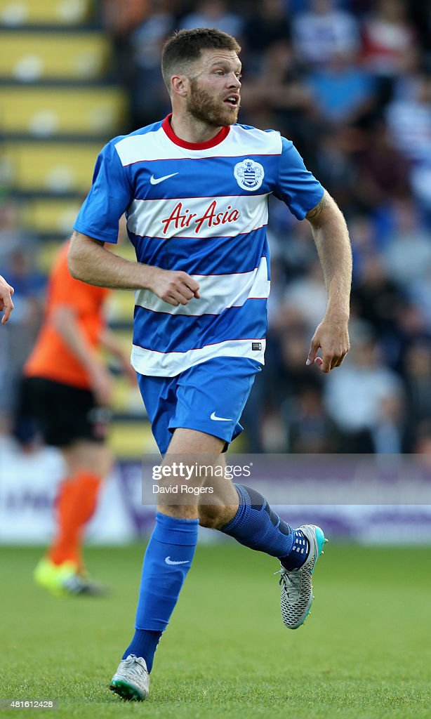 Jamie Mackie of QPR looks on during the pre season friendly match between Queens Park Rangers and Dundee United at The Hive on July 22, 2015 in Barnet, England.