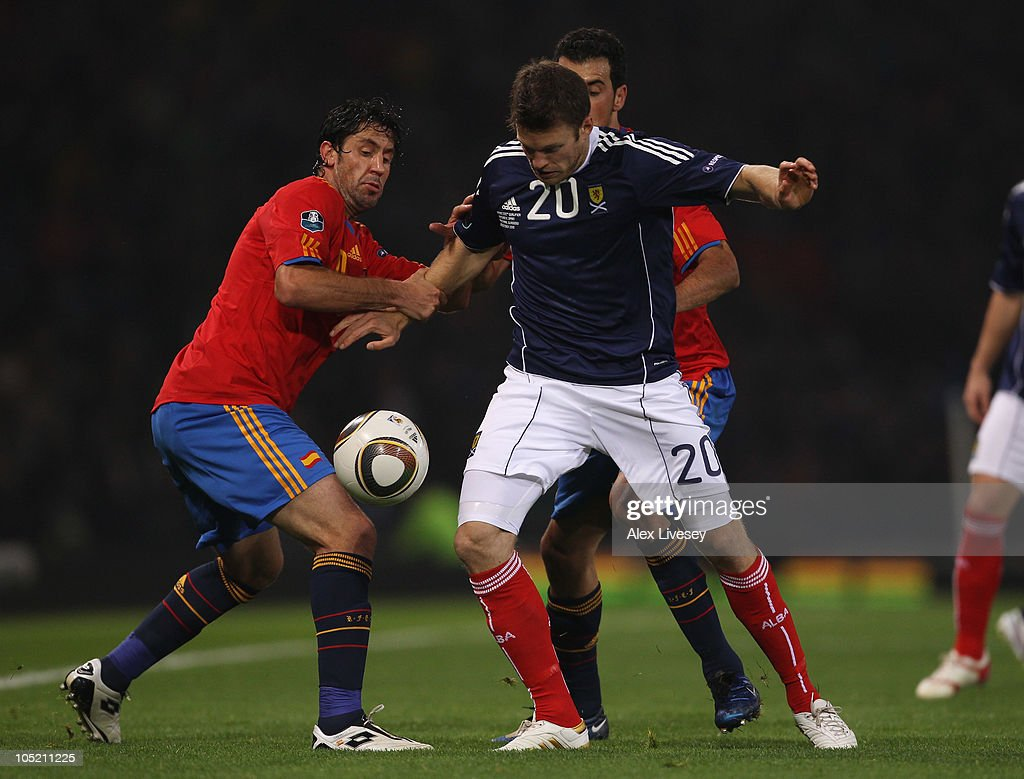 Scotland v Spain - EURO 2012 Qualifier
